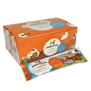 Display Barra de Cereal Monama sabor Castanha - 12 unidades de 25g - Sem Glúten
