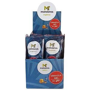 Display Granolita Mel Orgânica Monama - 15 unidades de 15g - Sem Glúten