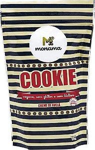 Cookie Creme de Avelã Sem Glúten Monama 90g