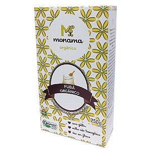 Fubá Orgânico Monama 250g