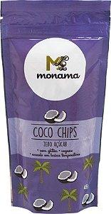 Chips de Coco Sem Açúcar Monama 45g
