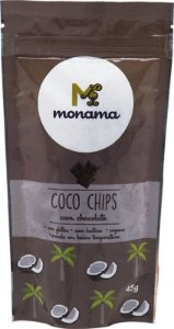 Chips de Coco com Chocolate Monama 45g