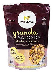 Granola Salgada Monama Alecrim e Cúrcuma S/ Glúten 200g