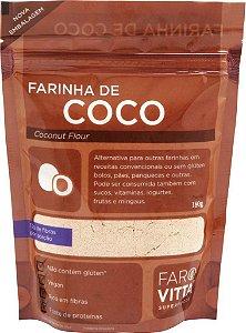 Farinha de  Coco Farovitta 180g