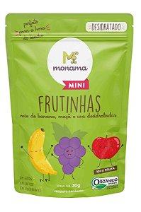 Snack Frutinhas Orgânicas Desidratadas Monama Mini 30g