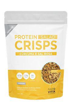 Protein Crisps Cúrcuma e Sal Rosa 85g