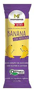 Barrinha de Aveia e Banana com Proteína Orgânica Monama Mini 25g