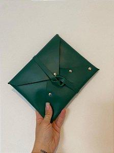 Clutch Envelope Verde Bandeira