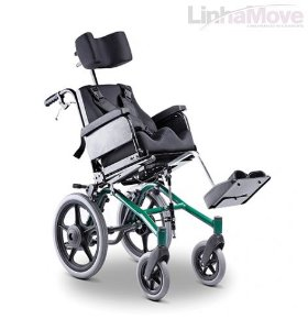Cadeira de Rodas Ortobras - Conforma Tilt Reclinável - R$ 3.428,00