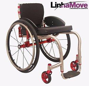 Cadeira de Rodas SmarTi One Titânio