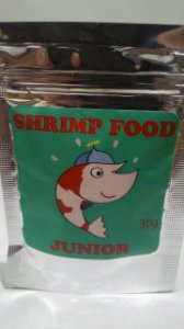 Ração Shrimp Food Color Fazenda Submersa 25g