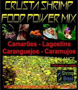 Ração Crusta Shrimp Food Power Mix - Balance