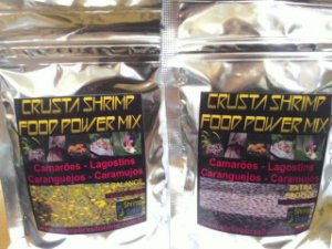 Ração Crusta Shrimp Food Power Mix Balance + Extra Protein