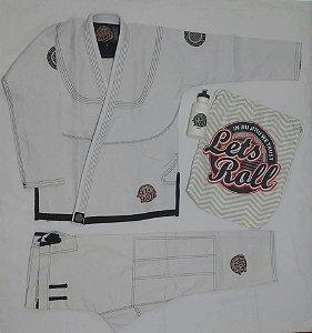 Kimono Trançado Lets Roll New Classic Branco