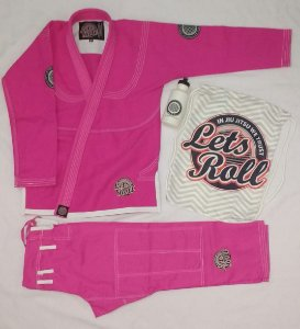 Kimono Trançado Lets Roll New Classic Rosa