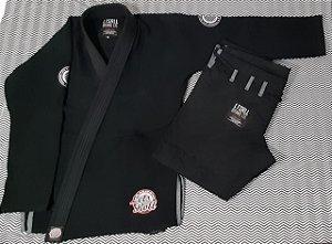 Kimono Trançado Lets Roll COMP2K19 Preto