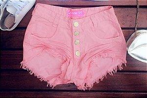Shorts Jeans rosa bebe