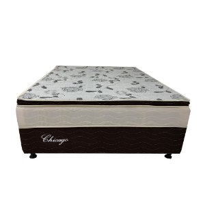 Cama Box Conjugada Dream Flex Chicago Casal 138x188