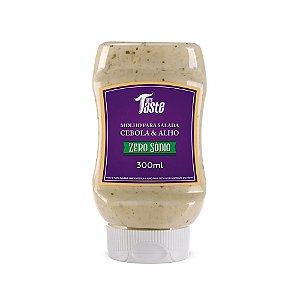Molho para salada zero sódio sabor alho e cebola Mrs Taste 300ml