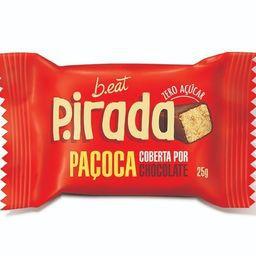 P.irada paçoca com cobertura de chocolate B.eat 25g