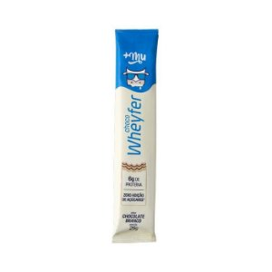 Choco wheyfer sabor chocolate branco +Mu 25g