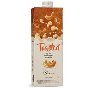 Bebida vegetal de castanhas assadas toasted Cajueiro 1l