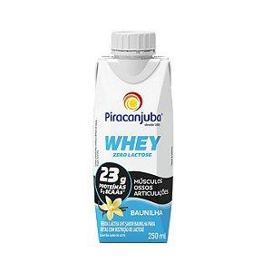 Bebida láctea com whey sabor baunilha Piracanjuba 250ml