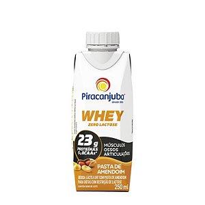 Bebida láctea com whey sabor amendoim Piracanjuba 250ml