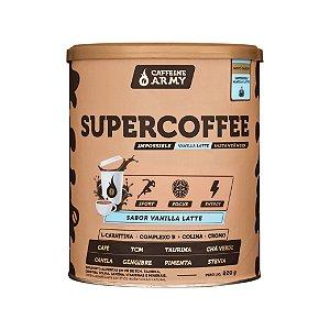 Supercoffee sabor vanilla latte Caffeine Army 220g