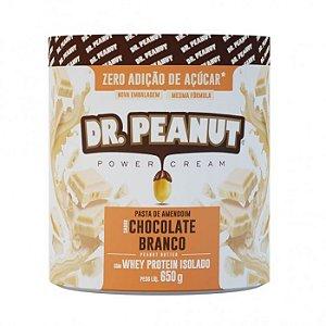 Pasta de amendoim com chocolate branco Dr Peanut 650g