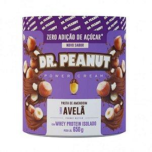 Pasta de amendoim sabor avelã Dr Peanut 650g
