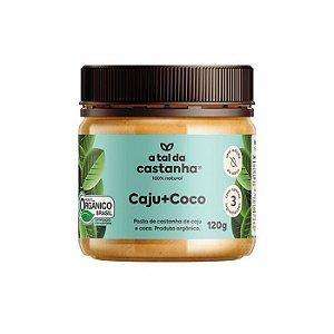 Pasta de castanha orgânica caju + coco A tal da castanha 120g
