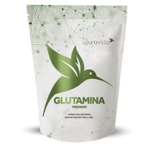 Glutamina premium Puravida 300g