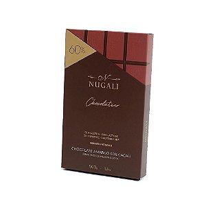 Barra chocolate amargo 60% Nugali 500g