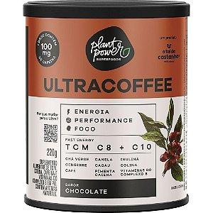 Ultracoffee vegano suplemento sabor chocolate A tal da castanha 220g