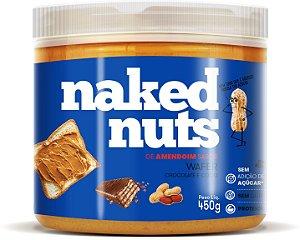 Pasta de amendoim waffer Naked Nuts 450g