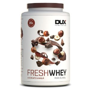 Fresh whey chocolate belga e avelã Dux 900g