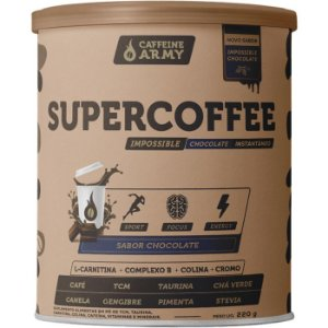 Supercoffee chocolate Caffeine Army 220g