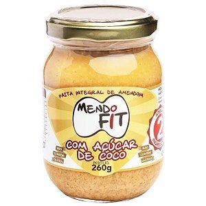 Pasta de amendoim com açúcar de coco Mendo Fit 260g