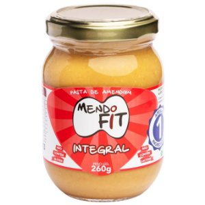 Pasta de amendoim integral Mendo Fit 260g