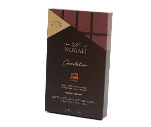 Barra de chocolate 70% Nugali 500g