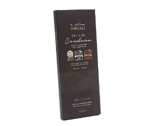 Chocolate serra do conduru 80% cacau Nugali 85g
