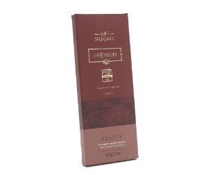 Tablete de chocolate ao leite 45% Nugali 100g