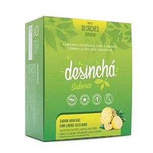 Desinchá sabor abacaxi e limão siciliano 30 sachês