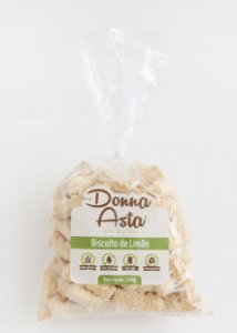 Biscoito de limão 0% açúcar Donna Asta 300g