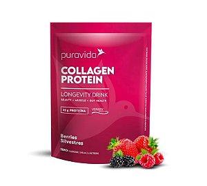 Collagen protein sabor berries silvestres Puravida 450g