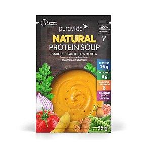 Sopa natural protein sabor legumes da horta Puravida 35g