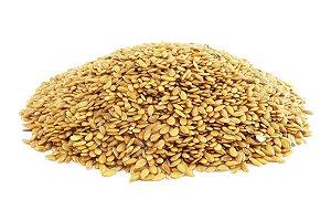 Semente linhaça dourada (Granel - preço/100g)