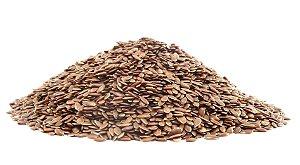 Semente linhaça marrom (Granel - preço/100g)