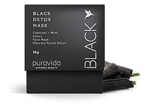 Black detox mask Puravida 50g